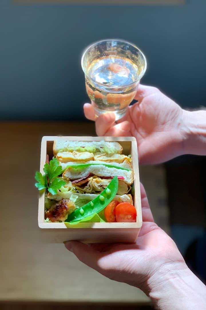 Egg omlet can be for sandwich