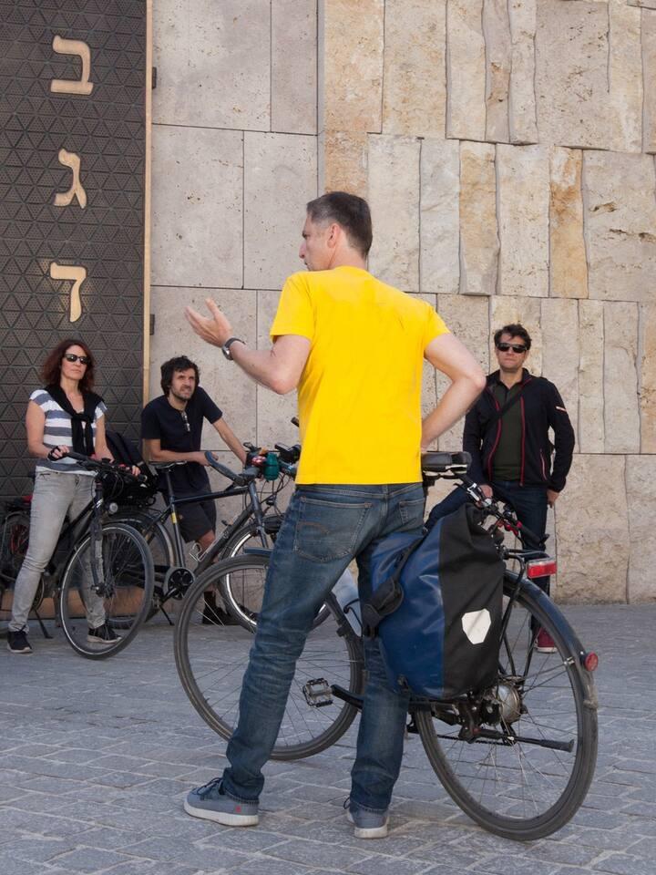 Stadtführung mit Radl am Jakobsplatz