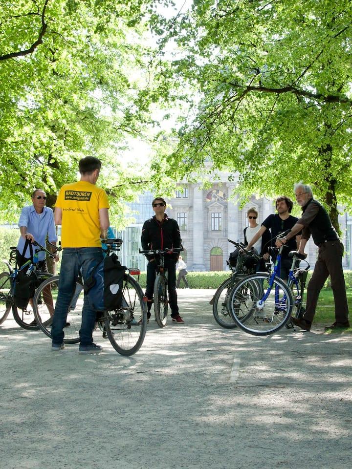 Hofgarten und Staatskanzlei