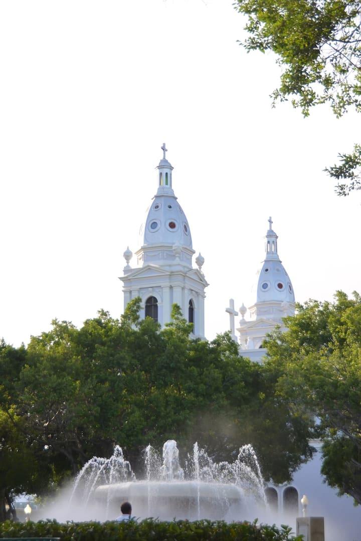 Views from Plaza Las Delicias