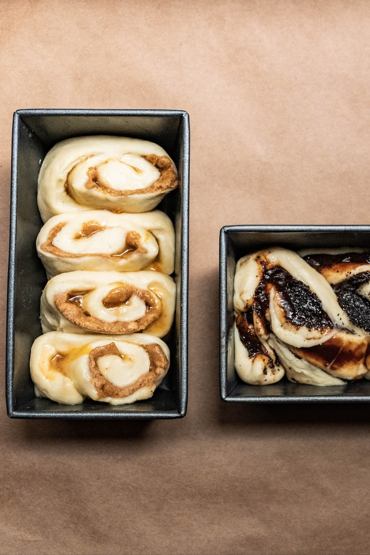 Cinnamon Buns - Proving Time