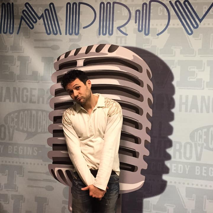 Performing at the Ontario Improv