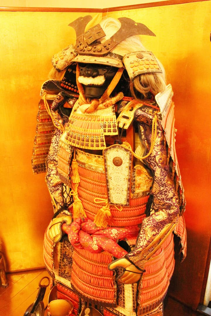 Learn about Samurai Armor with meaning