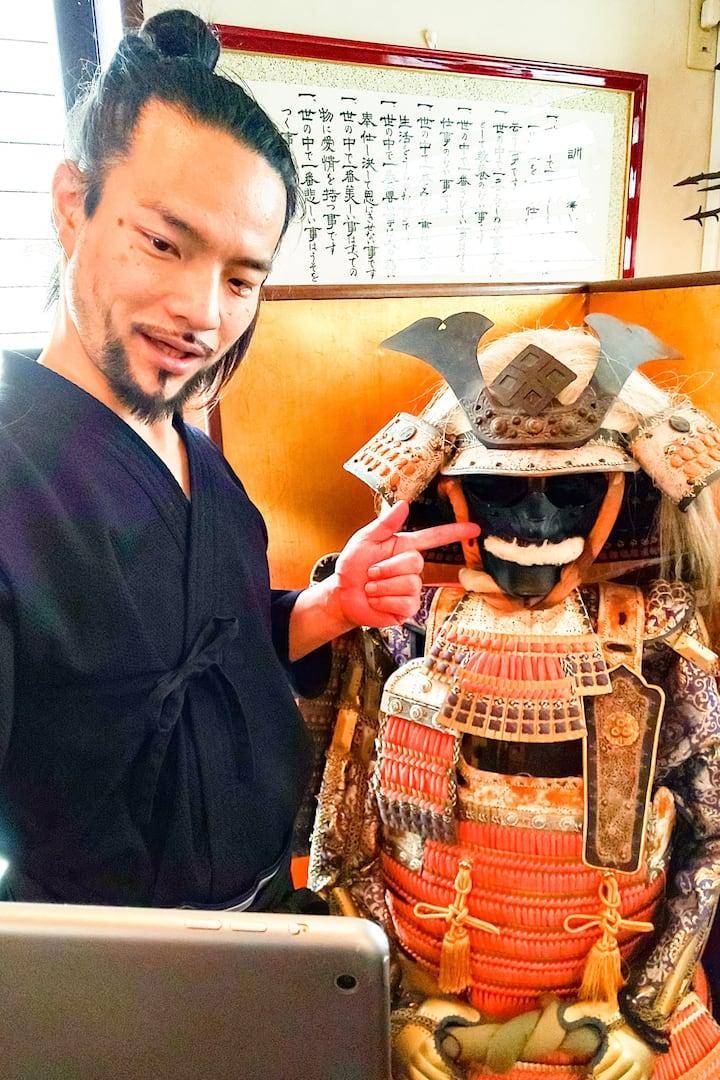 Explain Samurai Armor with meaning