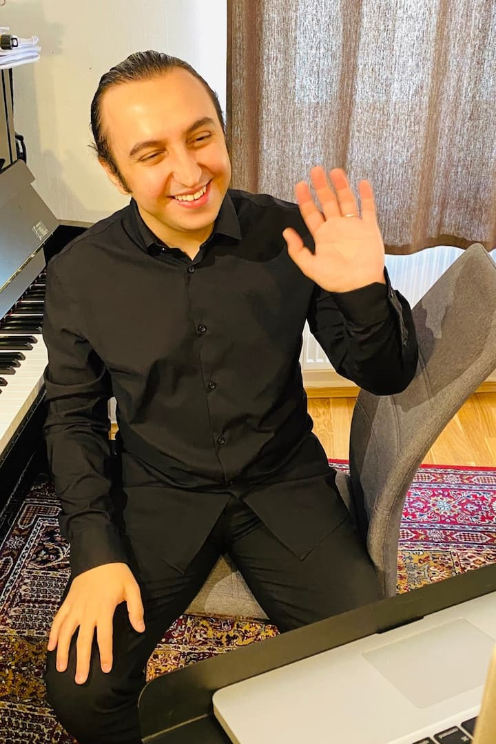 Welcome to my piano concert! :)