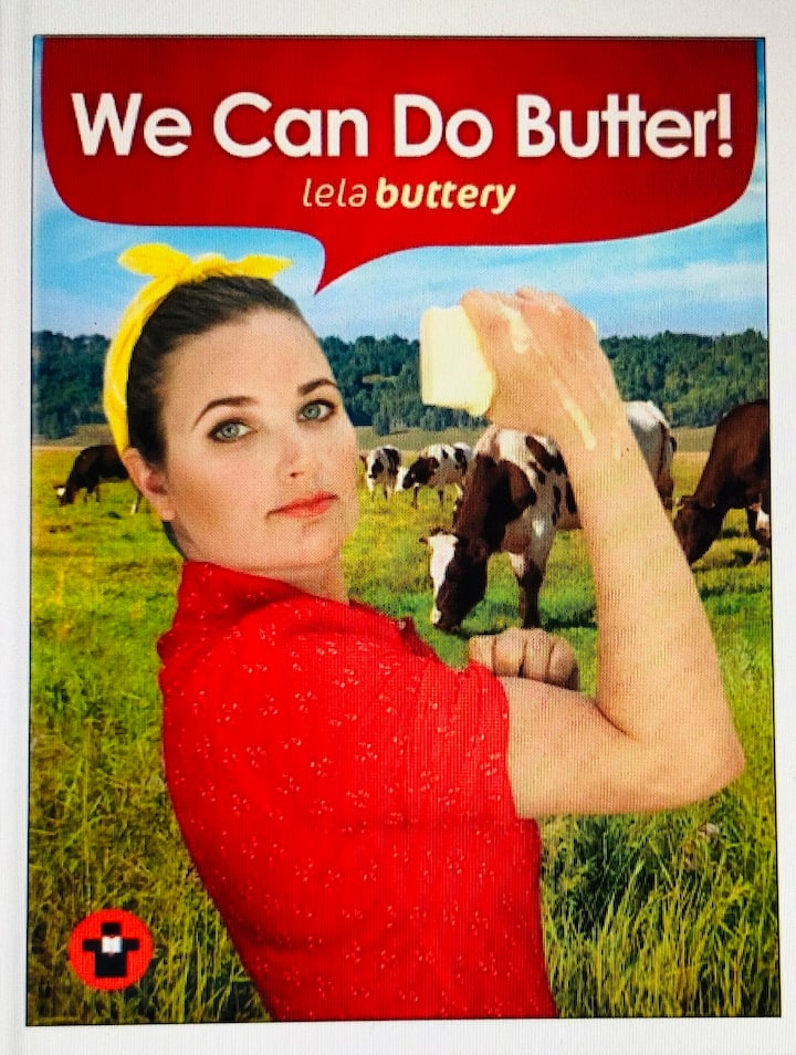 My book: We Can Do Butter