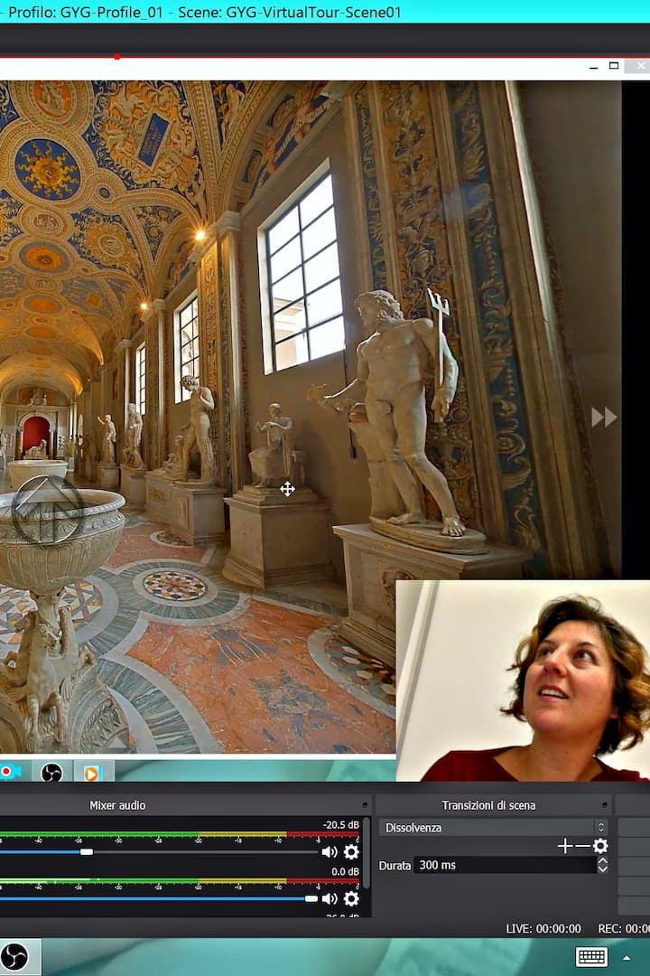 Virtual reality to Discover the Vatican