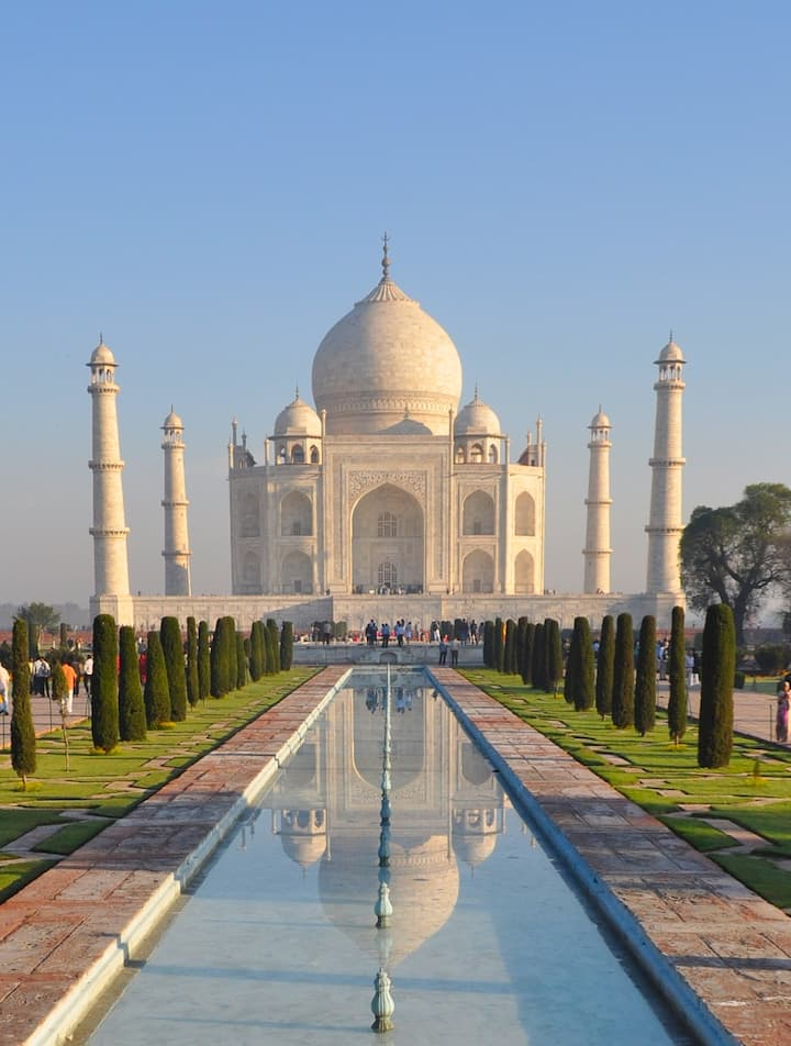 The  Taj - Nonpareil