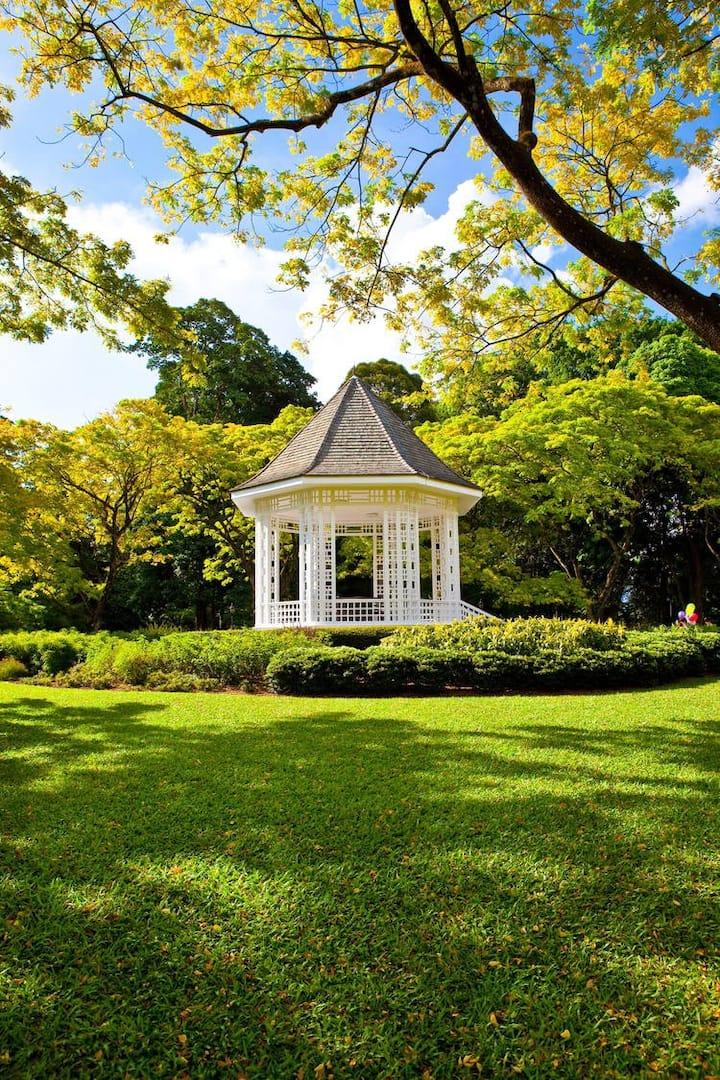 Singapore Botanical Gardens (UNESCO WHS)