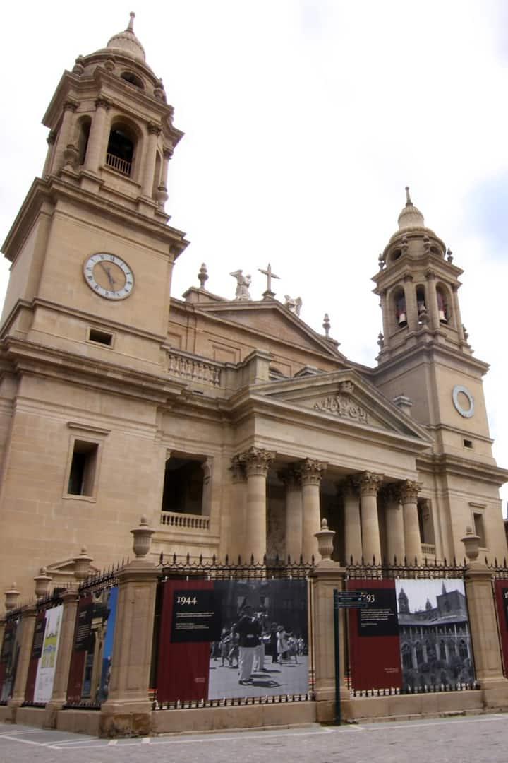 Church at Pamplona