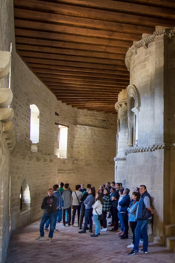 Guided tour at Olite Royal Castle