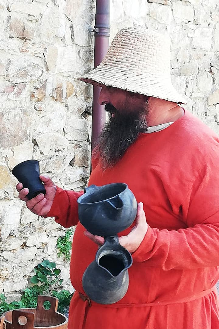 Présentation de poteries
