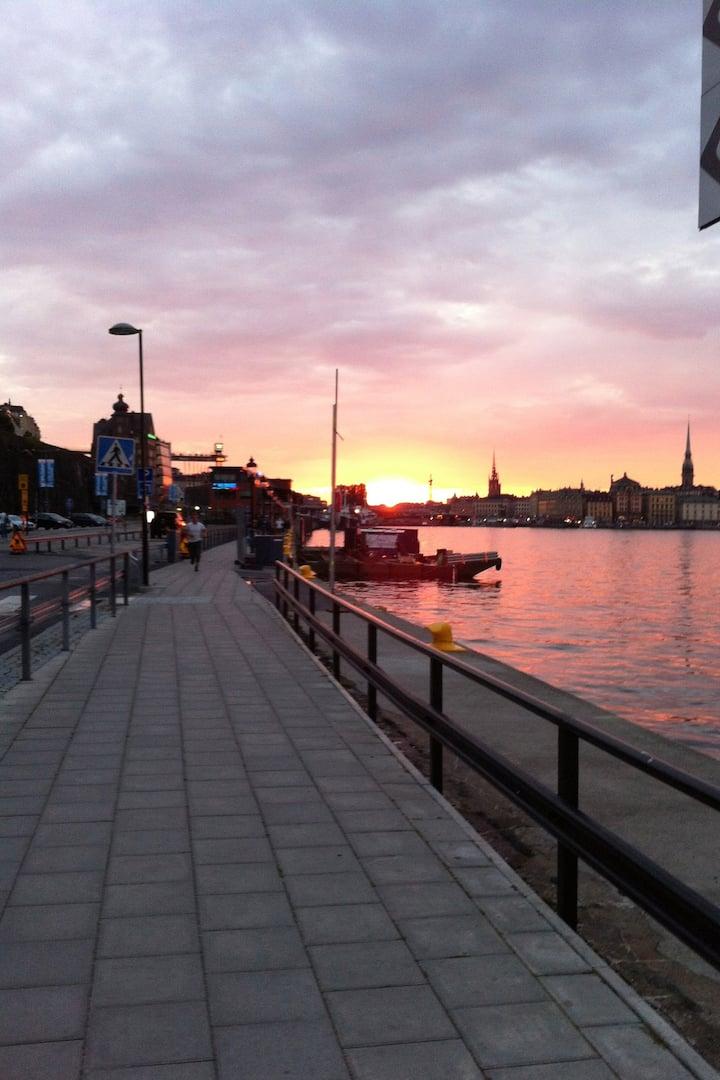 Härliga Stockholms-siluetter
