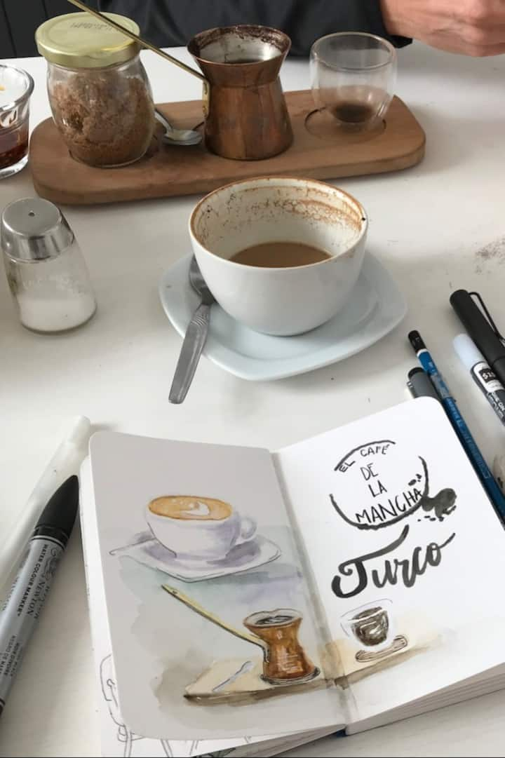 Sketch your coffee
