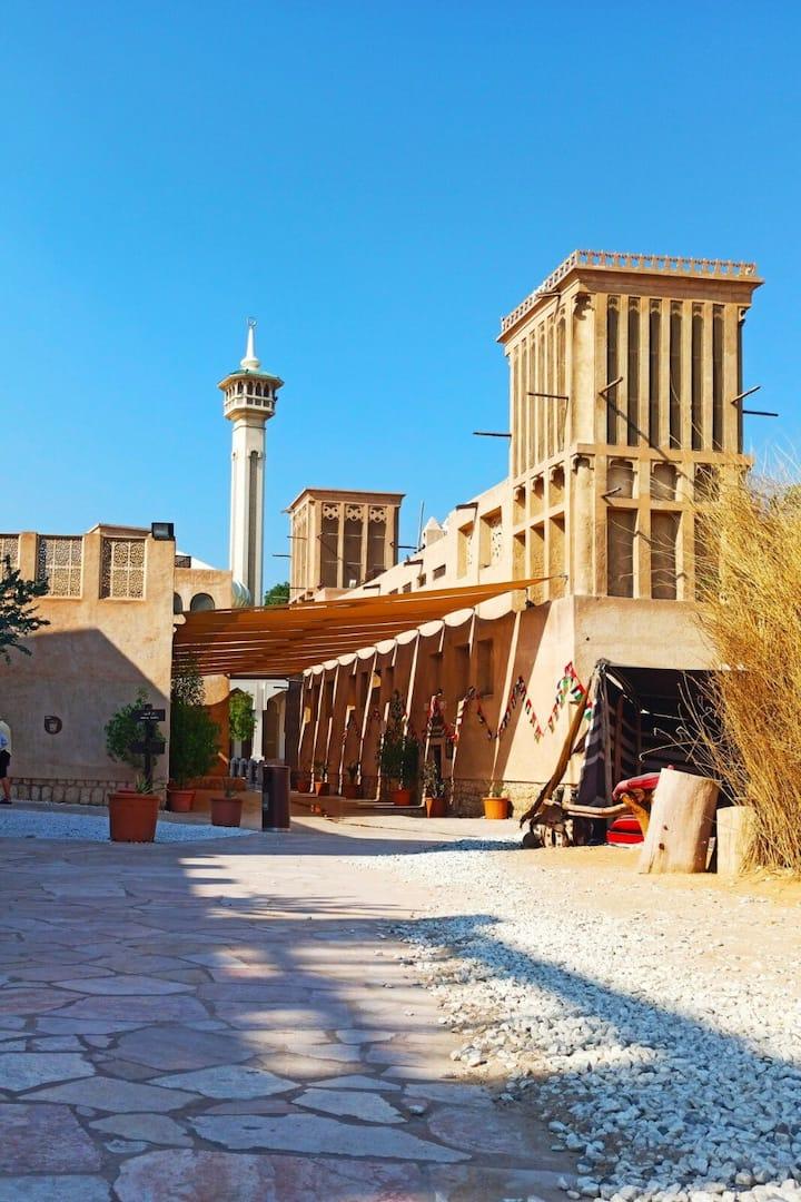 Bastakiya heritage site & coral house's
