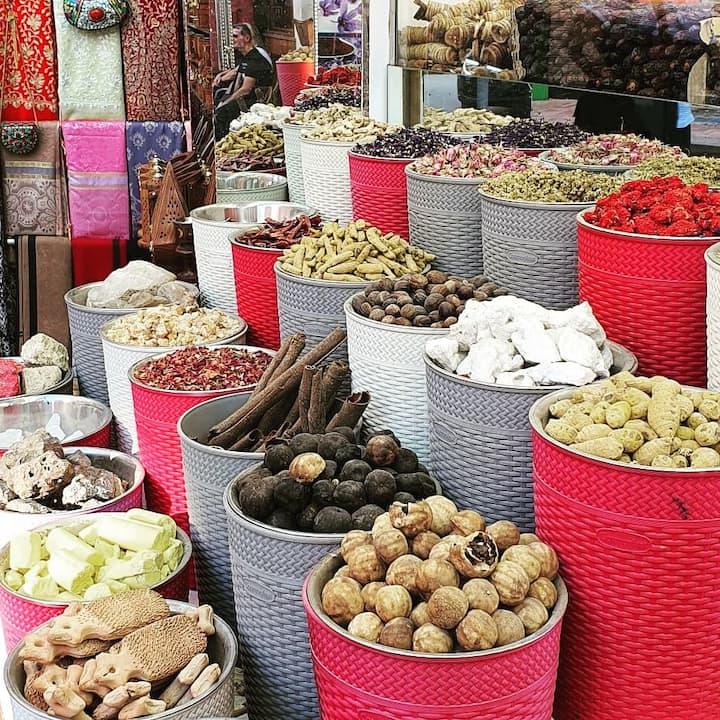 Old Dubai Spice Souk