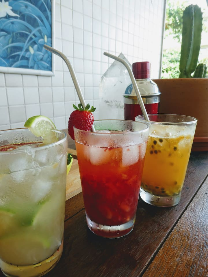 Lemon, Strawberry & Passion Fruit