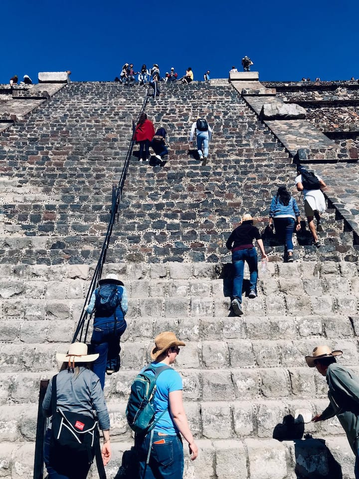 The original steps of the pyramid