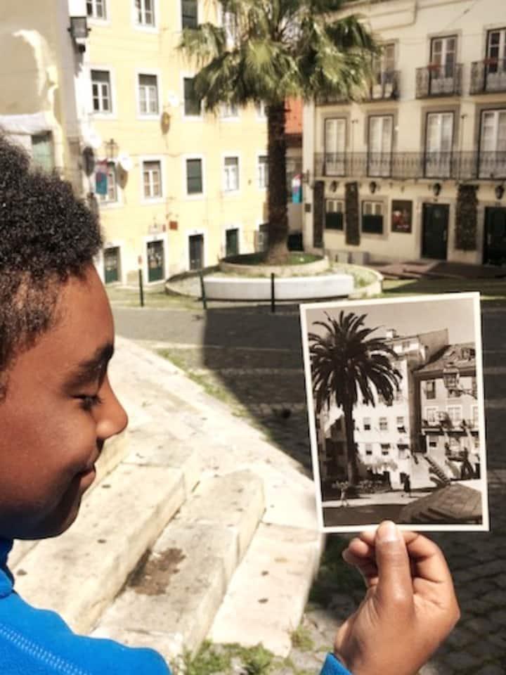 Hunting my grandmother postcards