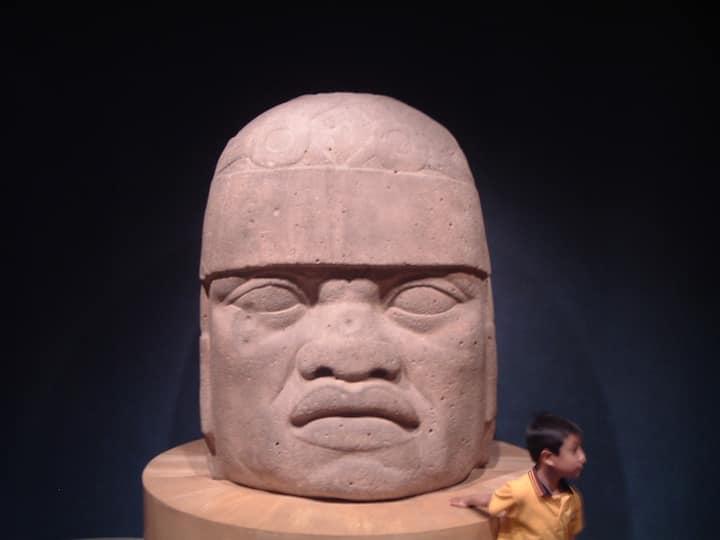 Olmec Colossal Head