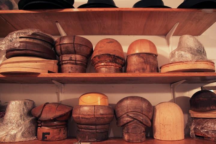 Vintage Hat Blocks