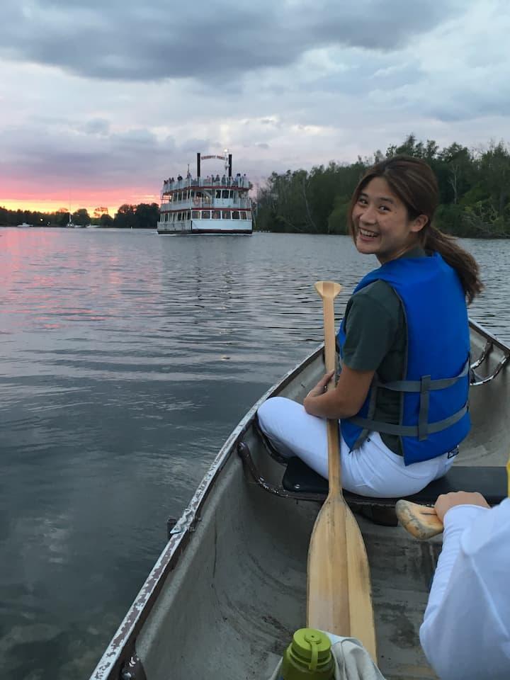 canoe tour toronto islands