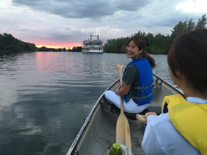 canoe tour toronto islands