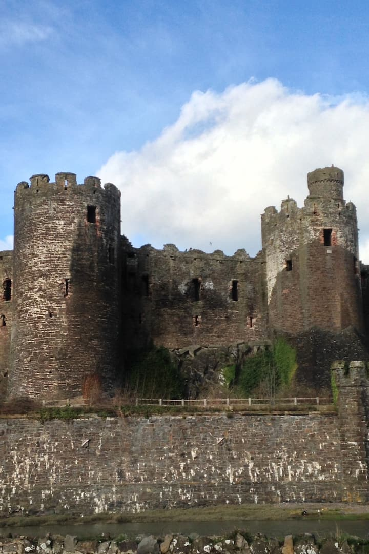Not a Welsh castle but a world heritage