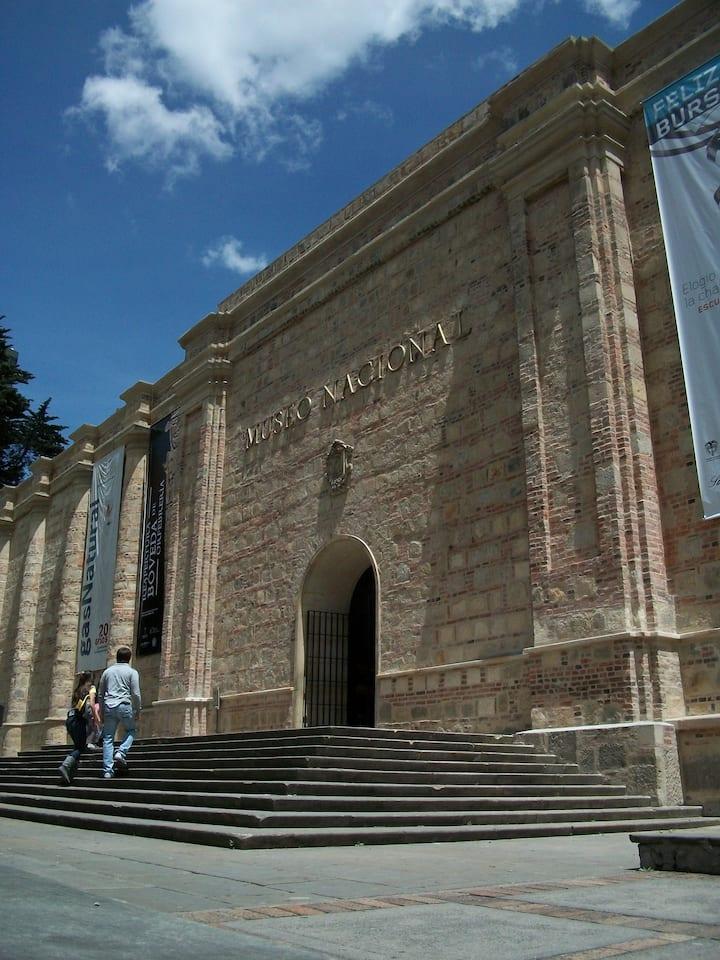 murallas de cárcel hoy Museo Nacional