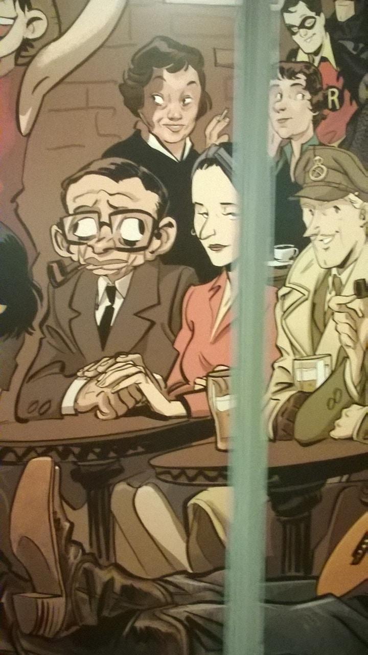 Jean Paul Sartre en Simone de Beauvoir