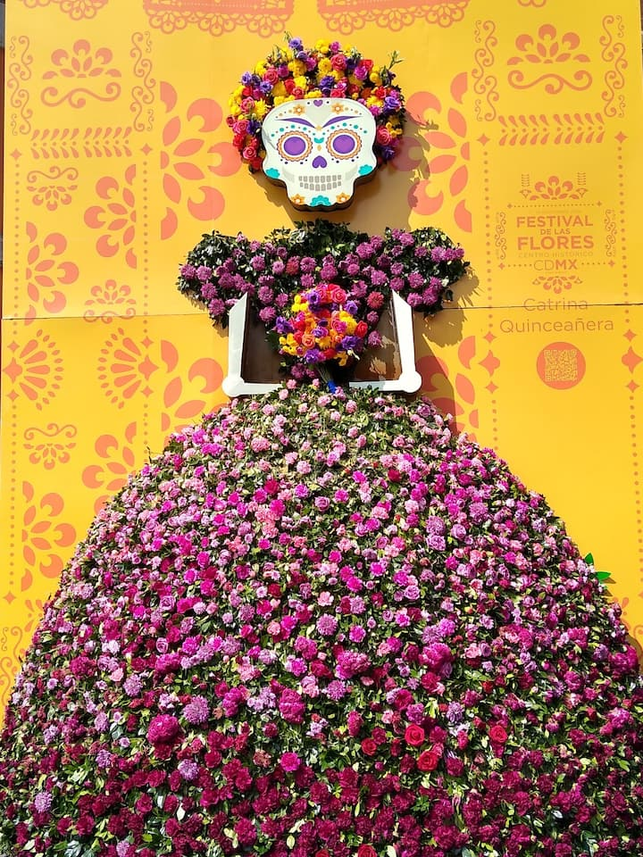 Dia de Muertos in Mexico City
