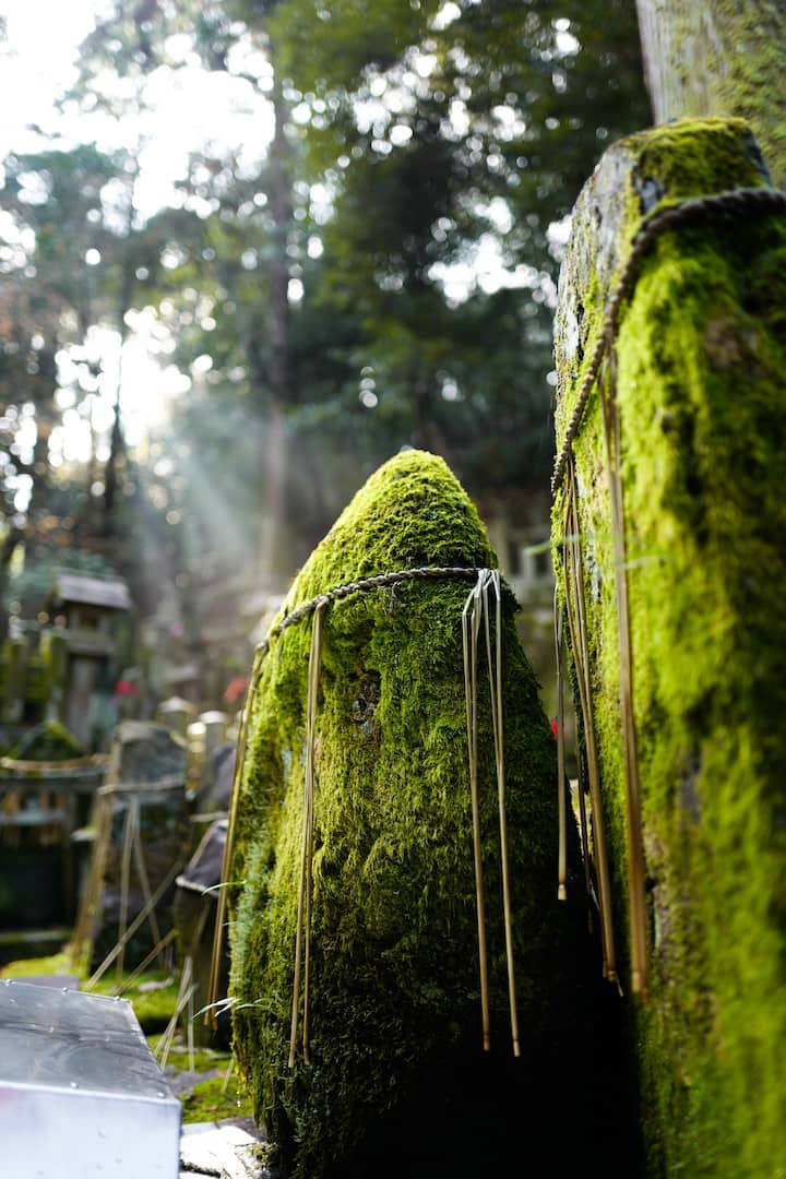 Learn about the spirits on Mt Inari