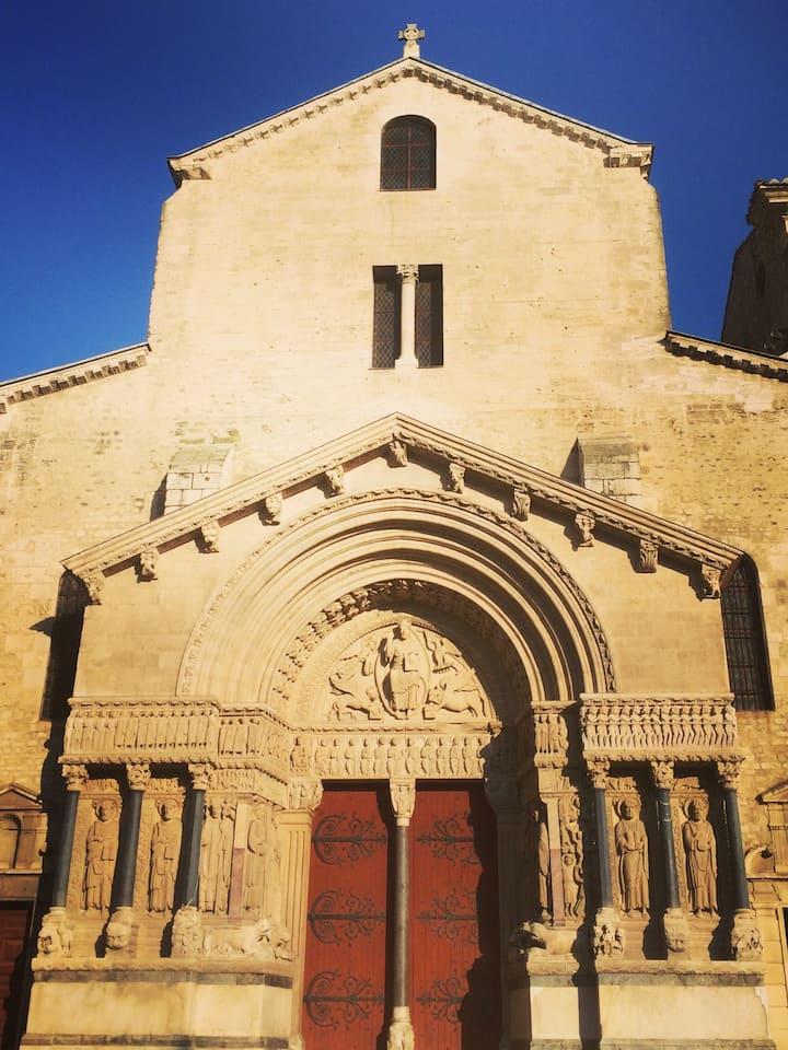 Eglise de Saint Trophime