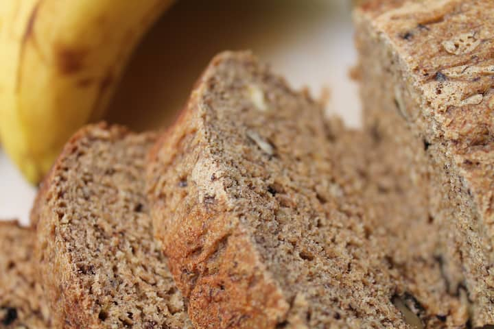 Sugar-free banana bread