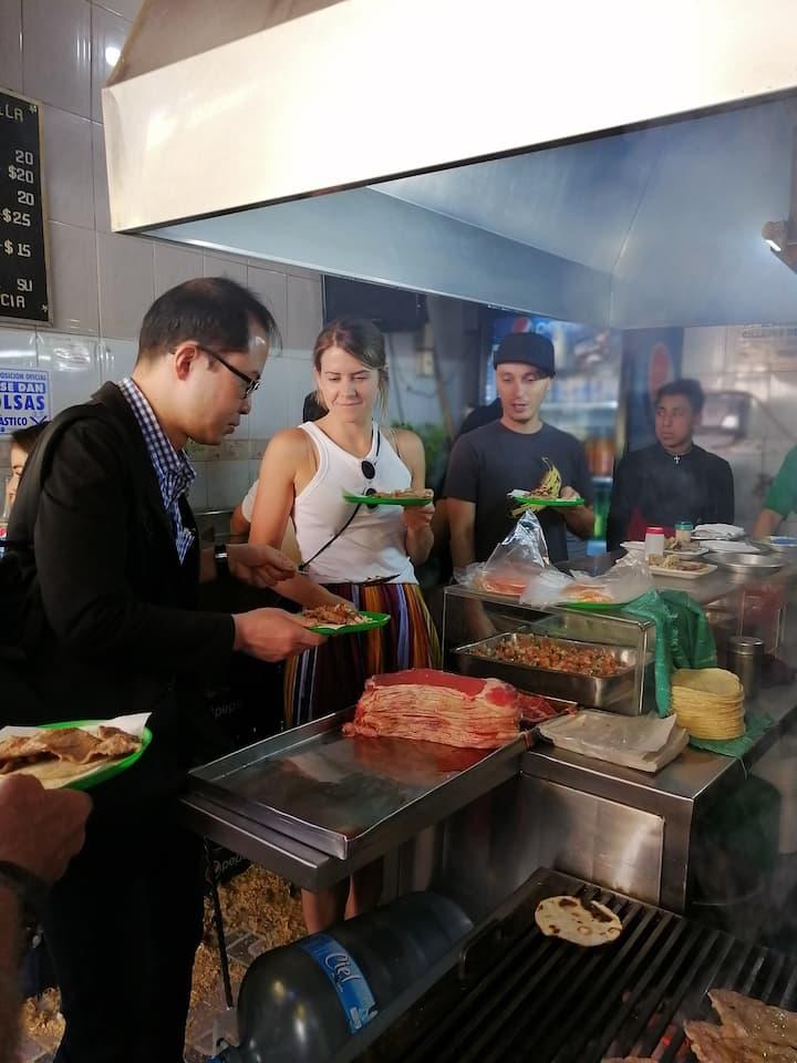 Best Tacos at la Merced