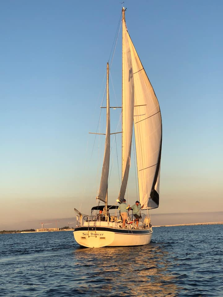 Another Beautiful Evening on Sea Dancer