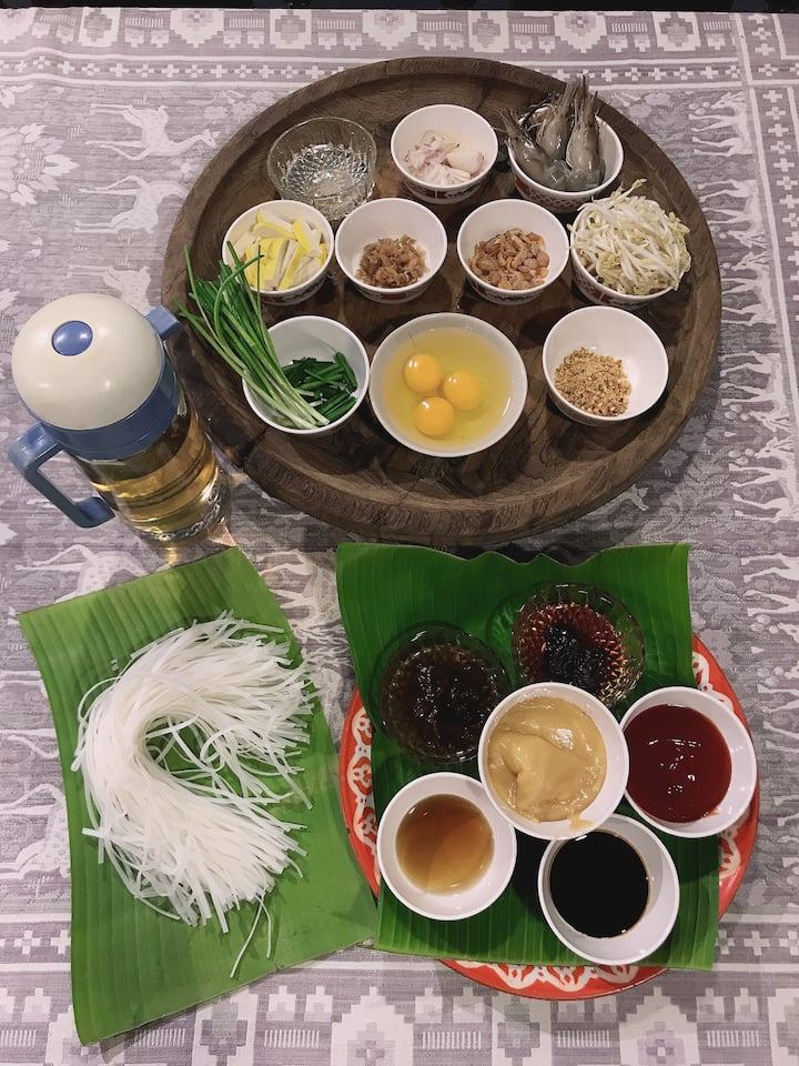 Ingredients for OmuPadthai