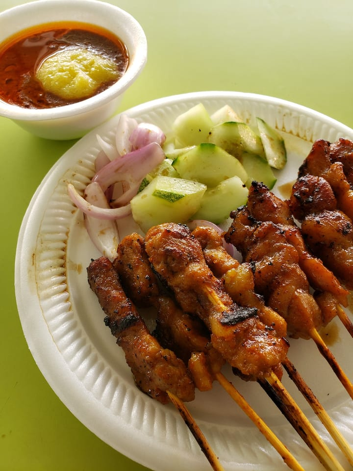 Feast on Singapore street food