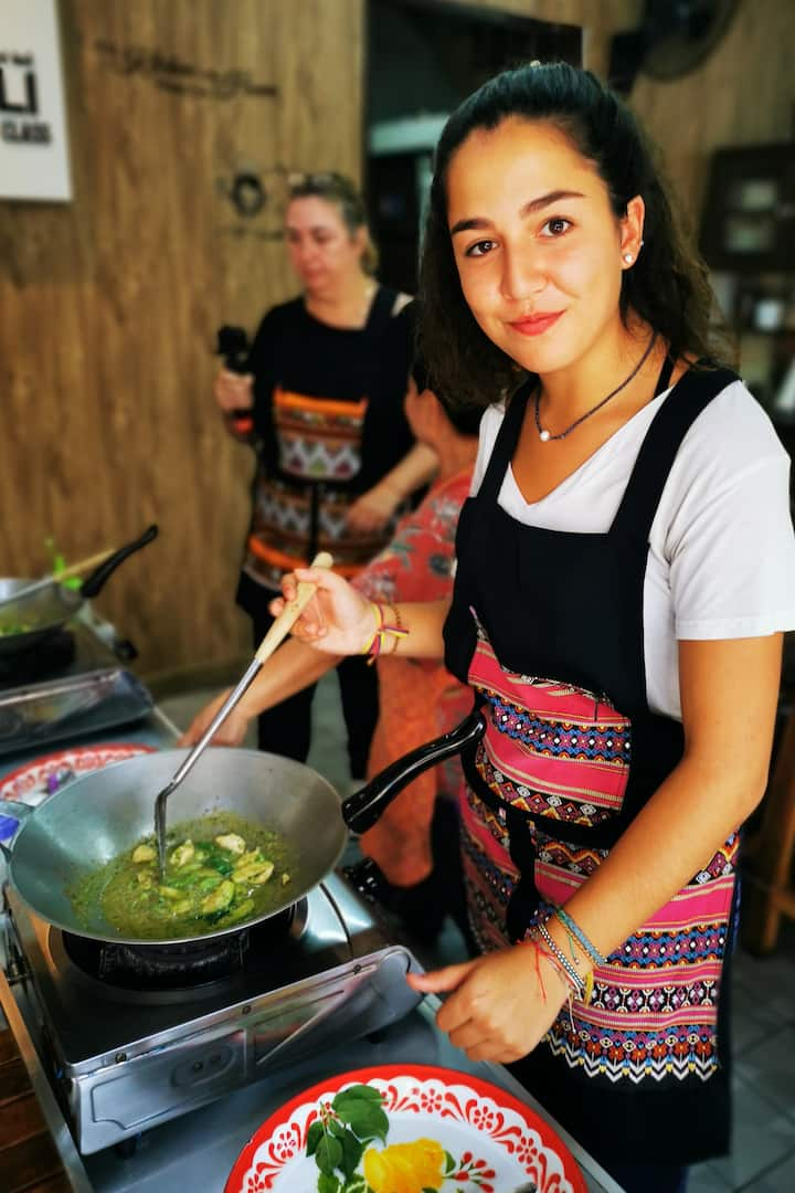 Cooking Thai Food
