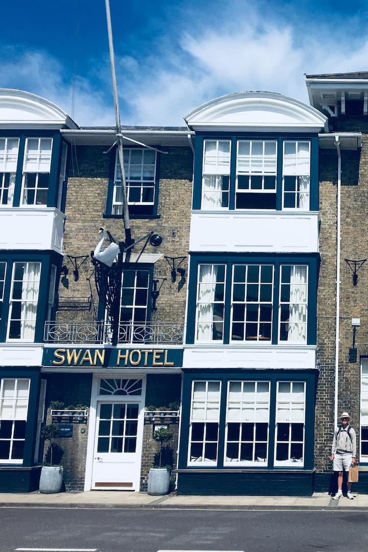 The famous Swan Hotel