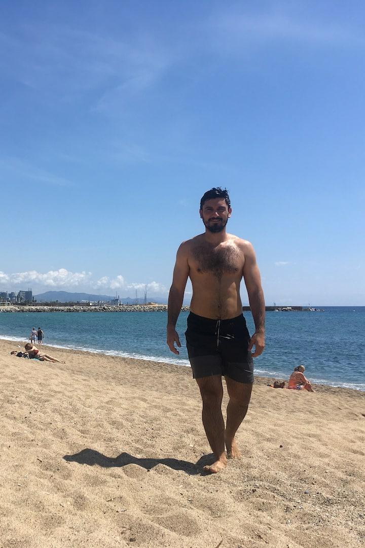 Running en las playas