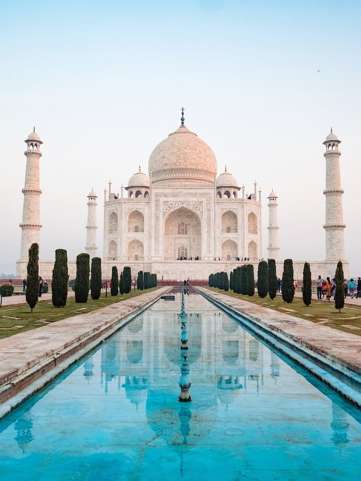 Taj Mahal-One of the Seven World Wonders