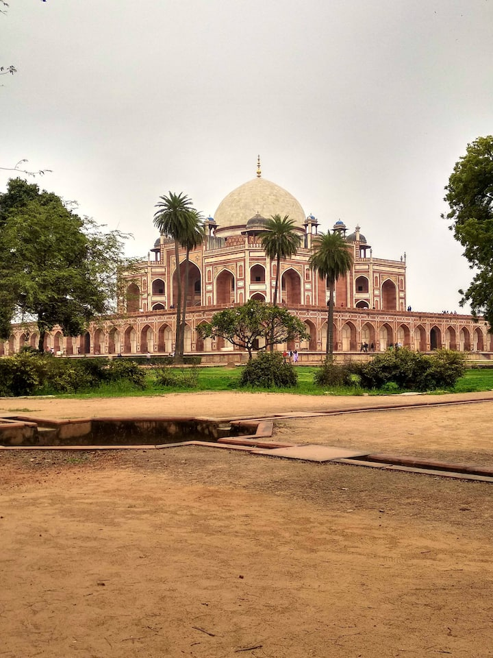 Tomb of 2nd Mughal Emperor in Delhi