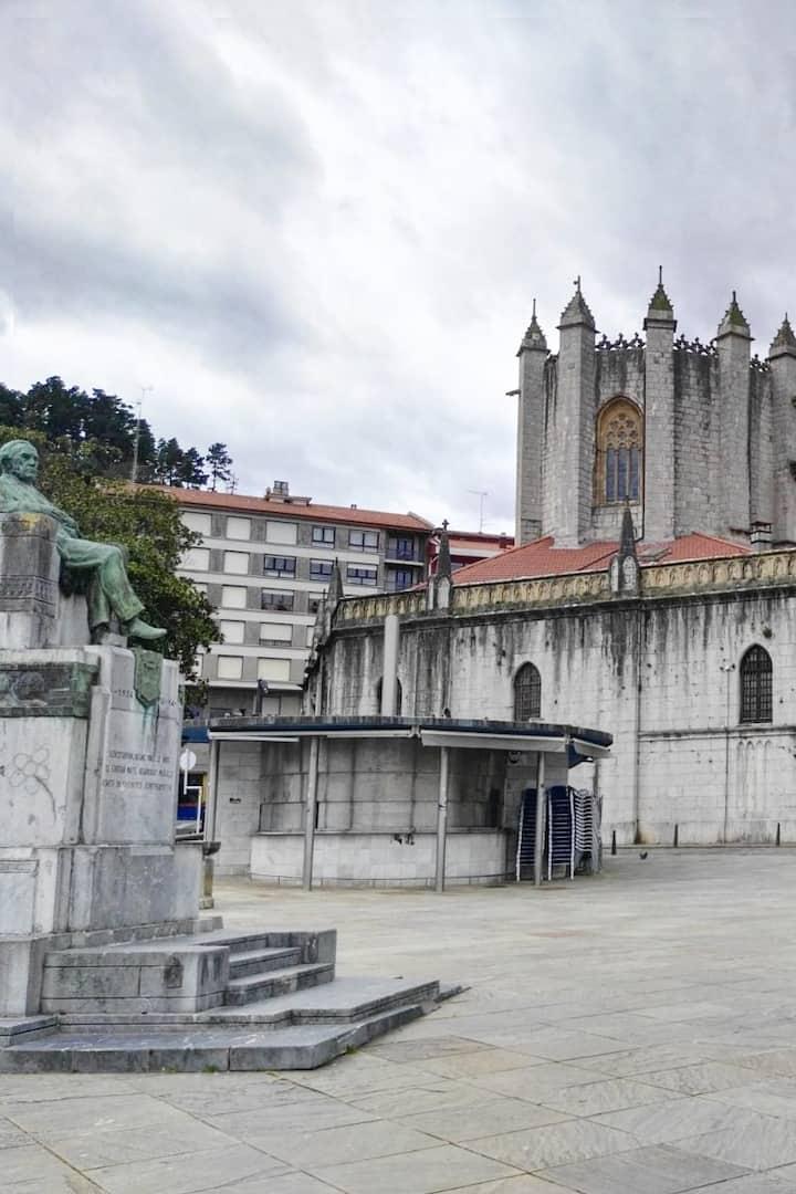 Basilica y plaza