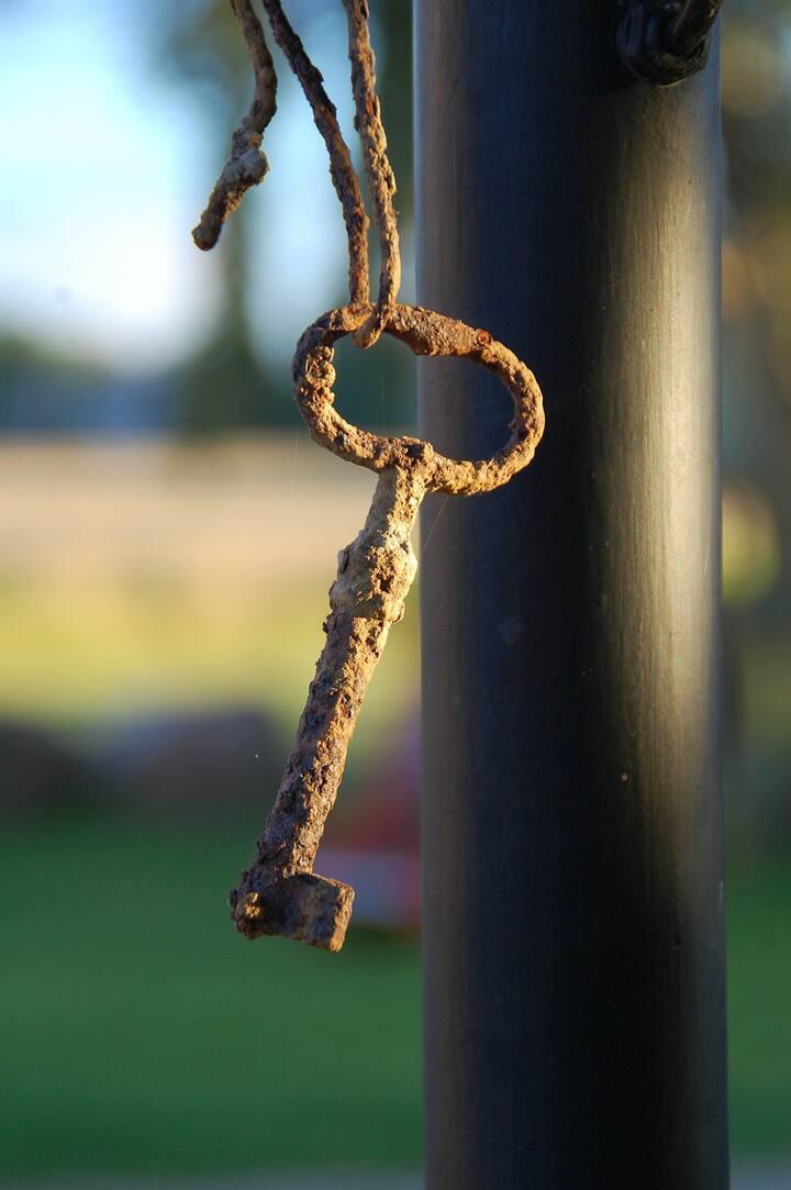Saurez-vous trouver la vieille clé ?