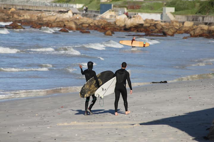 Point of entry in Muizenberg