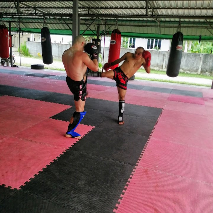 Muay Thai in Ao Nang  with an expert