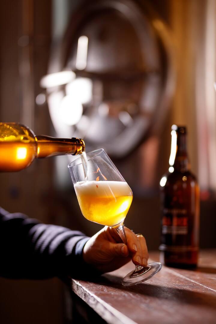 découvrir la bière da manière orginale!