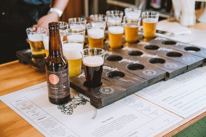 Craft beer tastings
