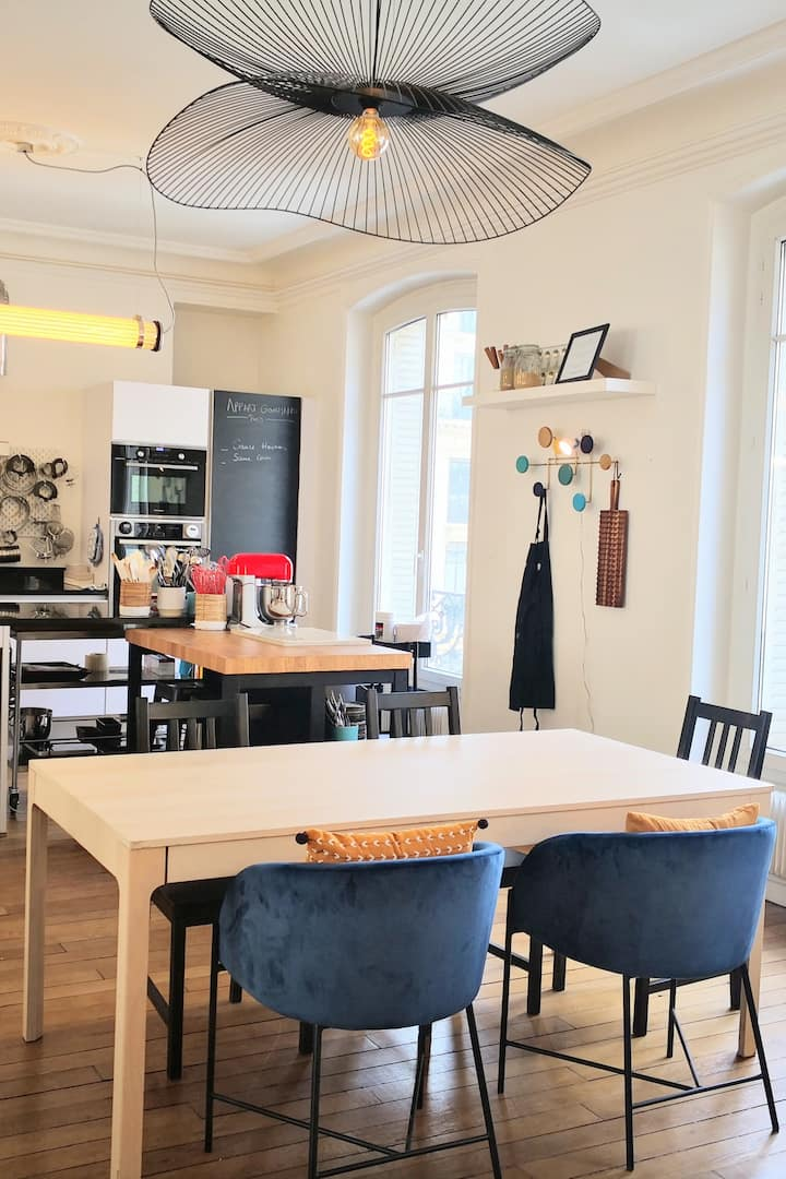 The place : Appart Gourmand
